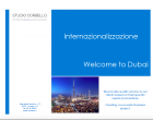 Wellcome to Dubai! - Studio Corbello