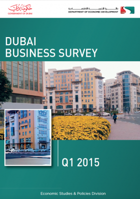 DUBAI BUSINESS SURVEY Q1 2015 - Studio Corbello